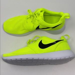 None roshe neon yellow green volt